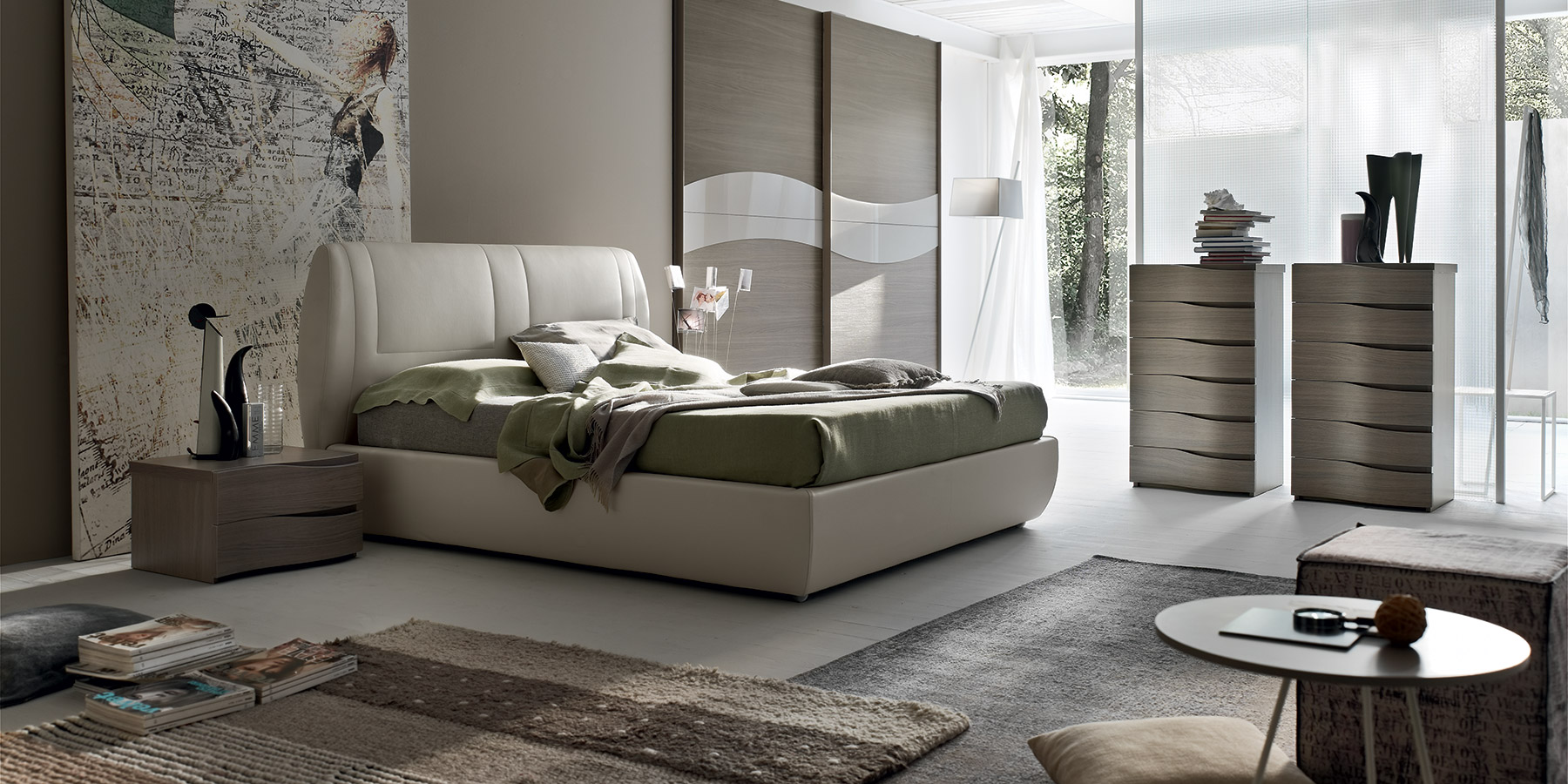 Gruppi letto soft maronese acf for Camere per single arredamento